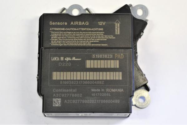 fiat punto airbag steuerger t 51963823 reparatur. Black Bedroom Furniture Sets. Home Design Ideas